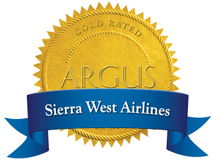 Sierra West Airlines Argus Logo